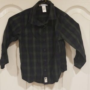 Janie and Jack Boys 3T Button down shirt